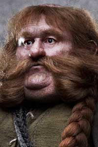 a Dwarf famed for his immense bulk. He loved meals above anything else and when he was put asleep in Mirkwood he dreamt he was eating forever.