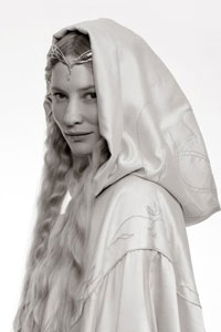 Galadriel was co-ruler of Lothlórien along with Lord Celeborn.