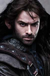 Kili, presumably Fili's brother and one of the youngest of Thorin's companions.